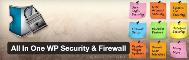 All in One Security & Firewall - Sicurezza WordPress