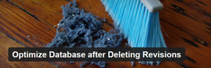 Optimize Database after Deleting Revisions - Cancellare revisioni