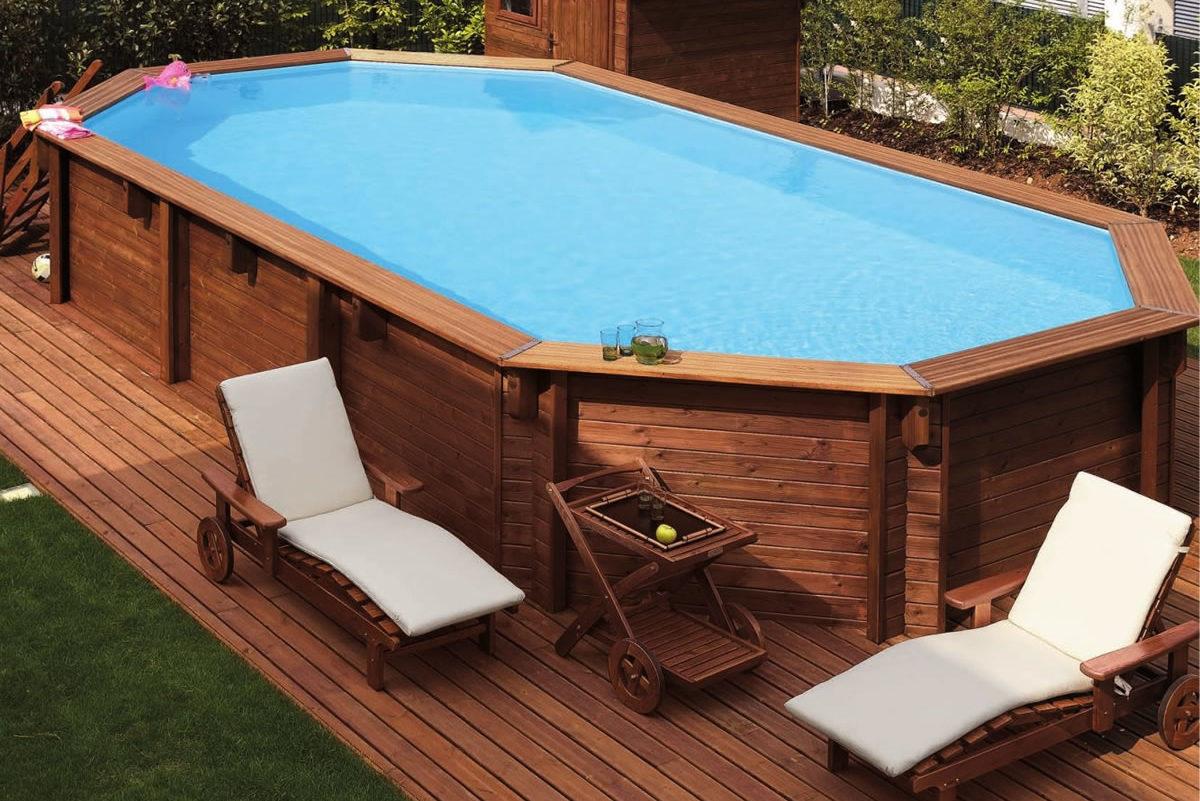 Piscine Da Esterno Rivestite In Legno piscina fuori terra da giardino. quale scegliere. - askbruzz