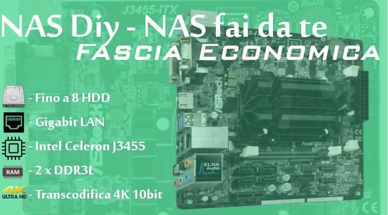 NAS DIY - NAS fai da te - Fascia economica - Copertina
