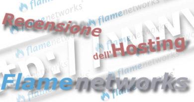 Recensione e opinioni dell'Hosting Flamenetworks