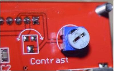 Tevo Tarantula Problemi e soluzioni stampante 3D - LCD Contrasto