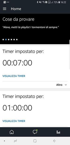 Amazon Alexa parla Italiano - Amazon App1