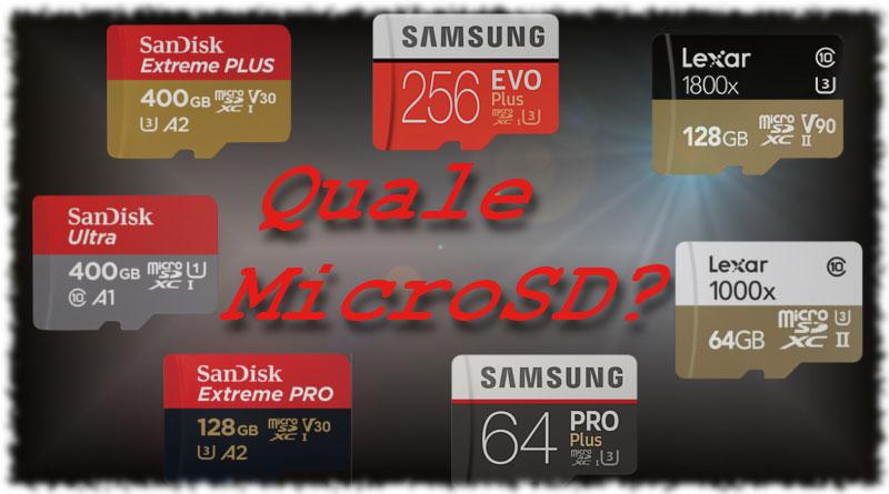 migliori MicroSD per smartphone - Copertina