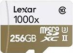 migliori MicroSD per Action Cam e Droni - Lexar 1000x