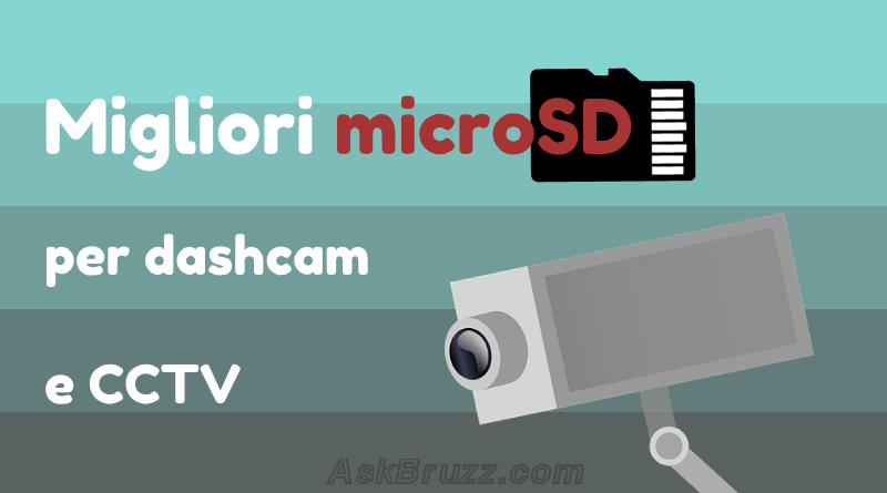 migliori MicroSD per Dash Cam e CCTV - Copertina