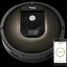 migliori robot aspirapolvere - Roomba 980