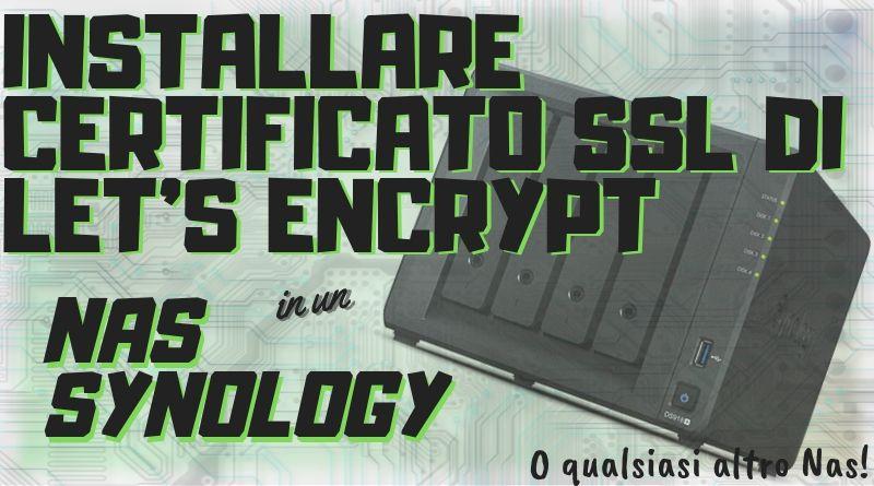 Come installare certificato ssl - Copertina