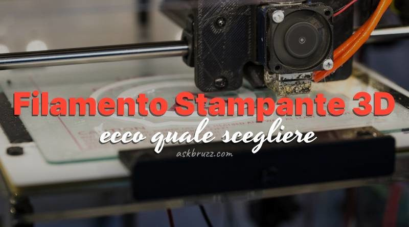 Miglior Filamento stampante 3D - Copertina