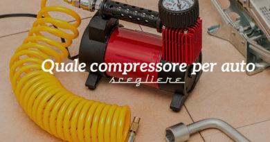 Quale compressore portatile per auto scegliere - Copertina