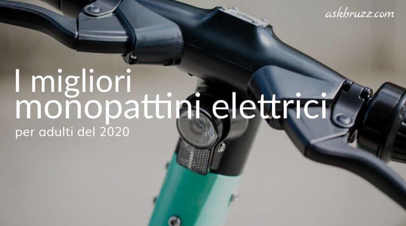 Copertina - migliori monopattini elettrici