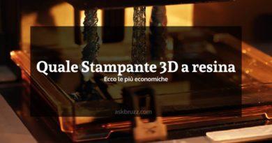 Quale stampante 3D a resina. Ecco le più economiche - Copertina