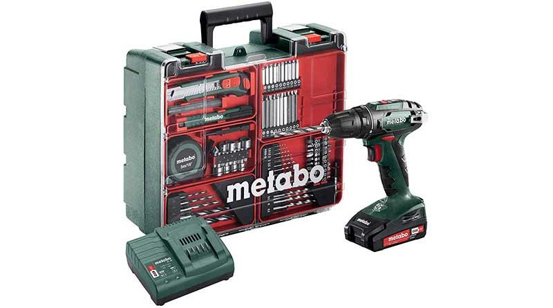 Metabo BS18LI Set