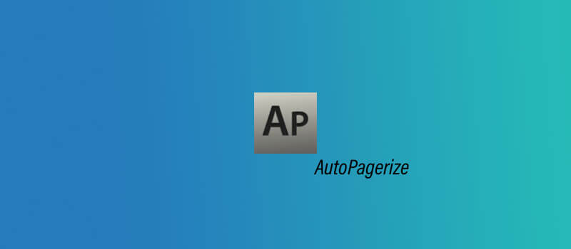 AutoPagerize - Google Chrome Estensioni
