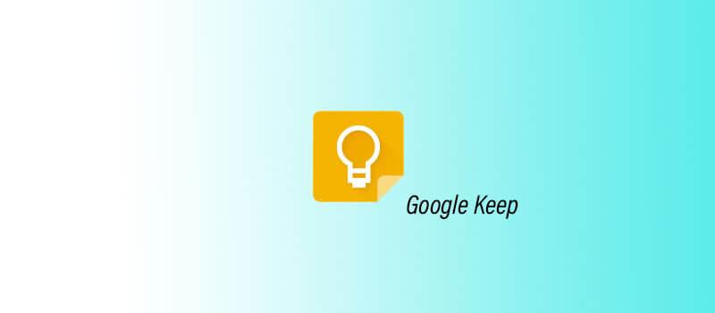 Google Keep - Migliore estensione per Google Chrome