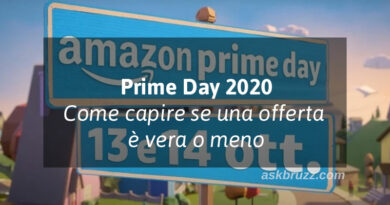 Prime day Amazon 2020 – Capire se è un'offerta vera o meno