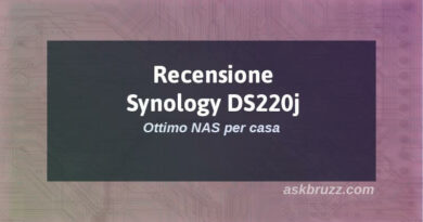 Recensione Synology ds220j - Copertina